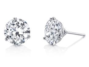 Earrings from the Classico - By Harry Kotlar - Style #: CES140W-RD24