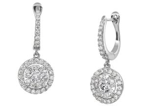Earrings from the Diamond Bouquets™ - By Memoire - Style #: MBQ15DE-0110TW
