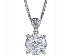 Pendants from the Diamond Bouquets™ - By Memoire - Style #: MBQ31P-0050TW