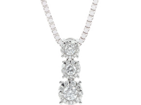 Pendants from the Diamond Bouquets™ - By Memoire - Style #: MBQ9P-0120TW