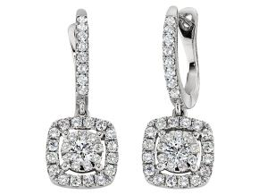 Earrings from the Diamond Bouquets™ - By Memoire - Style #: MCBQ2E-0166TW