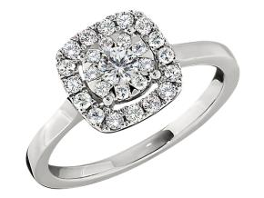 Engagement Rings from the Diamond Bouquets™ - By Memoire - Style #: MCBQ4R-0050TW