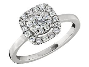 Engagement Rings from the Diamond Bouquets™ - By Memoire - Style #: MCBQ4R-0060TW