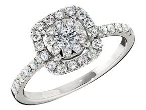 Engagement Rings from the Diamond Bouquets™ - By Memoire - Style #: MCBQ5R-0065TW