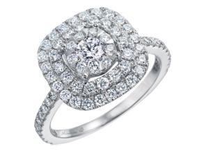 Engagement Rings from the Diamond Bouquets™ - By Memoire - Style #: MDBQ1ER-0115TW