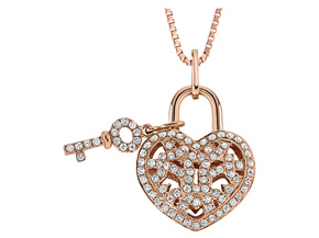 Pendants from the Lover's Locks - By Memoire - Style #: MLL41P-0025TR