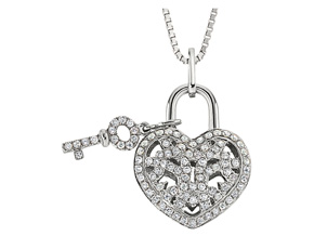 Pendants from the Lover's Locks - By Memoire - Style #: MLL41P-0025TW