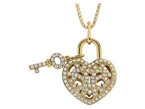 Pendants from the Lover's Locks - By Memoire - Style #: MLL41P-0025TY