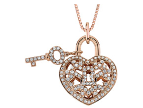 Pendants from the Lover's Locks - By Memoire - Style #: MLL41P-0040TR