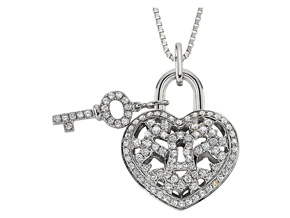 Pendants from the Lover's Locks - By Memoire - Style #: MLL41P-0040TW