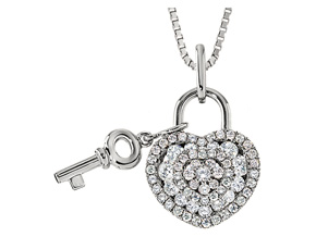 Pendants from the Lover's Locks - By Memoire - Style #: MLL42P-0040TW