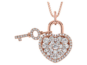 Pendants from the Lover's Locks - By Memoire - Style #: MLL42P-0090TR