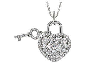 Pendants from the Lover's Locks - By Memoire - Style #: MLL42P-0090TW