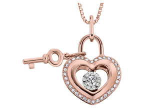 Pendants from the Lover's Locks - By Memoire - Style #: MLL43P-0033TR
