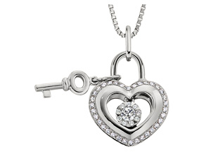Pendants from the Lover's Locks - By Memoire - Style #: MLL43P-0020TW