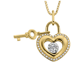 Pendants from the Lover's Locks - By Memoire - Style #: MLL43P-0033TY