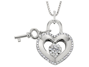 Pendants from the Lover's Locks - By Memoire - Style #: MLL43P-0033TW
