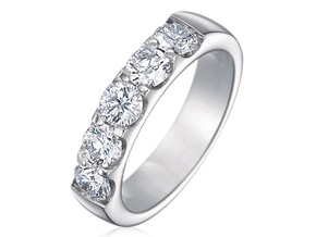Wedding Rings from the Odessa - By Memoire - Style #: MOP5-0200MW