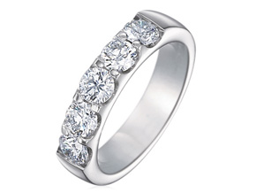 Wedding Rings from the Odessa - By Memoire - Style #: MOP5-0200MPL