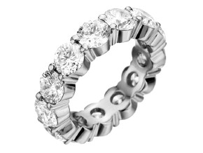 Wedding Rings from the Pétite Prong® - By Memoire - Style #: MIP1-0800MWZ65