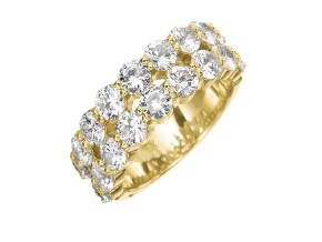 Wedding Rings from the Paragon - By Memoire - Style #: MPR192-0300MY