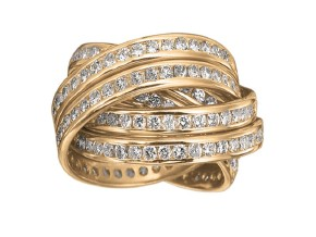 Rings from the Rolling Rings - By Memoire - Style #: MEDR660410MRZ65