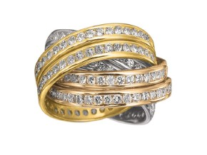 Rings from the Rolling Rings - By Memoire - Style #: MEDR660410MWYRZ65