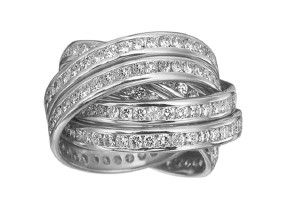 Rings from the Rolling Rings - By Memoire - Style #: MEDR660410MWZ65