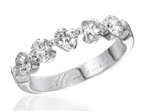 Wedding Rings from the Purity - By Memoire - Style #: MPSP5-0150MPL9