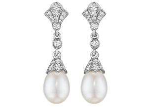 Earrings from the Pearls and Tassels - By Penny Preville - Style #: E5567W