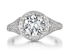 Engagement Rings from the Engagement Rings - By Penny Preville - Style #: R1220P