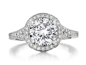 Engagement Rings from the Engagement Rings - By Penny Preville - Style #: R1222P