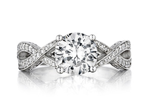 Engagement Rings from the Engagement Rings - By Penny Preville - Style #: R1247P