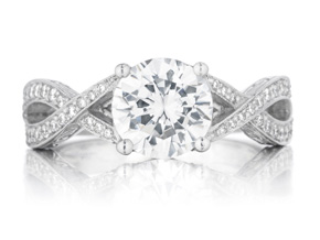 Engagement Rings from the Engagement Rings - By Penny Preville - Style #: R1258P