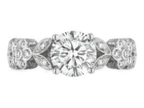 Engagement Rings from the Engagement Rings - By Penny Preville - Style #: R1248P