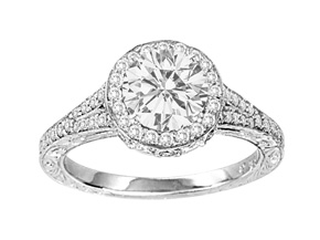 Engagement Rings from the Engagement Rings - By Penny Preville - Style #: R1249P