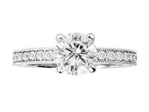 Engagement Rings from the Engagement Rings - By Penny Preville - Style #: R1311P