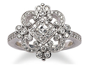 Rings from the Imperial - By Penny Preville - Style #: R2116W-RD