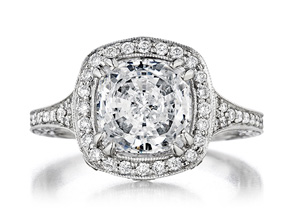 Engagement Rings from the Engagement Rings - By Penny Preville - Style #: R2126P
