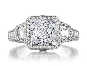 Engagement Rings from the Engagement Rings - By Penny Preville - Style #: R2129P