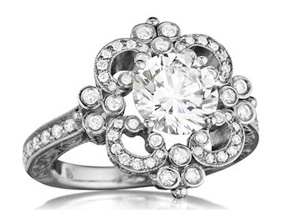 Engagement Rings from the Engagement Rings - By Penny Preville - Style #: R2164W