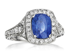 Engagement Rings from the Engagement Rings - By Penny Preville - Style #: R2166W