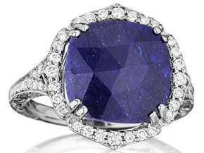 Rings from the Blue Sapphire - By Penny Preville - Style #: R2190W-B