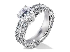 Engagement Rings - By Furrer Jacot - Style #: 53-66242-0-W