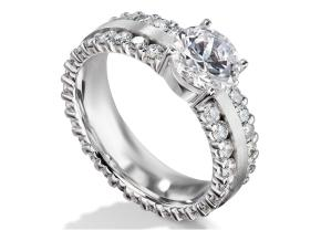 Engagement Rings - By Furrer Jacot - Style #: 53-66341-0-W