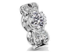 Engagement Rings - By Furrer Jacot - Style #: 53-66400-0-W