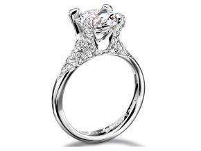 Engagement Rings - By Furrer Jacot - Style #: 53-66560-P-W