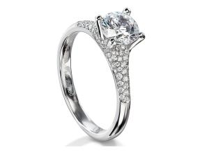 Engagement Rings - By Furrer Jacot - Style #: 53-66610-P-W