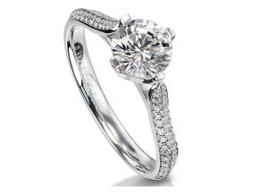 Engagement Rings - By Furrer Jacot - Style #: 53-66701-0-W