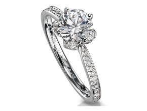 Engagement Rings - By Furrer Jacot - Style #: 53-66741-0-W